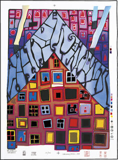 973 L'ALFABETO - ALPHABET (1997) (Siebdruck)