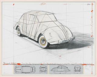 """Bild """"Wrapped Volkswagen"""" (2013)"""