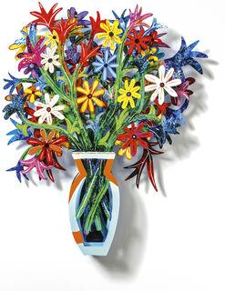 """Wandobjekt """"Bouquet Brussels"""" (2009)"""
