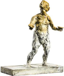 """Skulptur """"Waage"""" (2018), Bronze"""