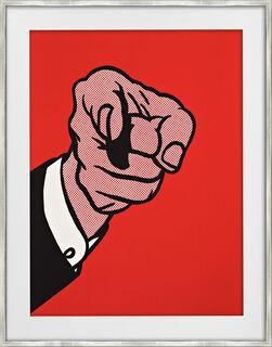 """Bild """"Finger Pointing"""" (1973)"""