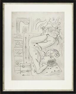 """Bild """"Nu renversé au brasero"""" (1929)"""