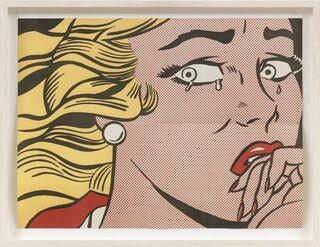 """Bild """"Crying Girl """" (1963)"""