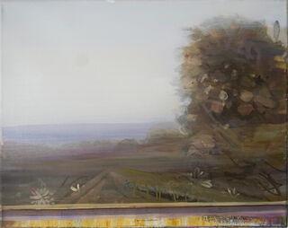 """Bild """"Landschaft III"""" (2018) (Unikat)"""