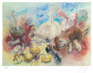 """Bild """"Pilze und meine Pfeife"""" (2002)"""