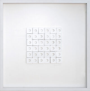 "Bild ""Whiteless"" (2020) (Unikat)"