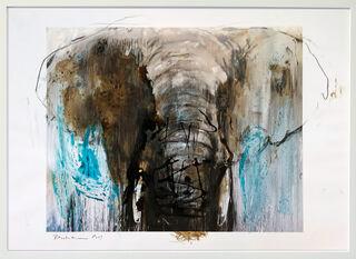 "Bild ""Elefant_97"" (2019) (Unikat)"