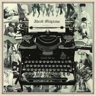 """Bild """"Nostalgia Memories - Typewriter Series"""" (2016) (Unikat)"""