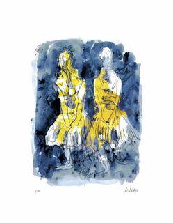"""Armin Mueller-Stah:l Bild """"Tänzerinnen (nach Edgar Degas)"""" (2020)"""