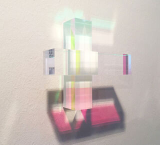 "Wandobjekt ""Light Edge #55"" (2020)"