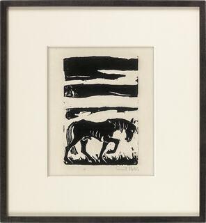 """Bild """"Pferd"""" (1910)"""