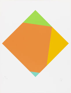 "Bild ""Transkoloration II"" (1986)"