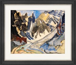 "Bild ""Berglandschaft"" (1922) (Unikat)"