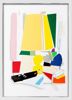 "Bild ""T. Atelier Gelbe Lampe"" (2015) (Unikat)"