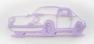 "Wandobjekt ""Porsche 911 Targa (flieder)"" (2021) (Unikat)"