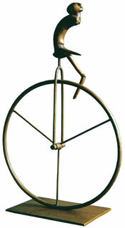 "Skulptur ""L'Artiste"", Bronze"