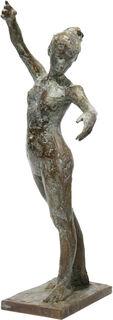 """Skulptur """"Kleine Tänzerin"""" (2016), Bronze"""
