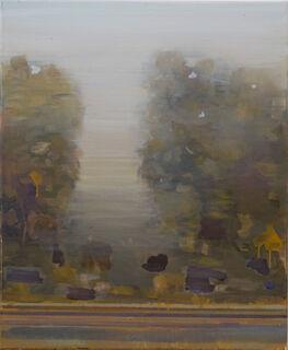 "Bild ""Baum mit Kante"" (2019) (Unikat)"