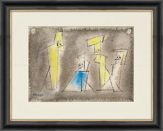 """Bild """"Four Figures"""" (1954) (Unikat)"""