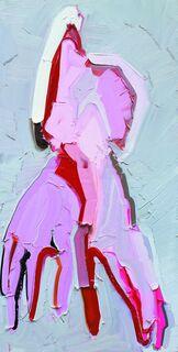 "Bild ""Pink Gloves"" (2012) (Unikat)"