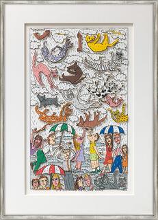 "Bild ""It´s raining cats and dogs"" (1996)"
