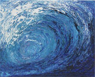 "Bild ""Welle"" (2001) (Unikat)"