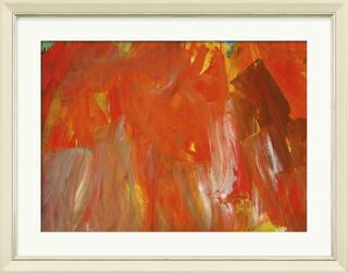 "Bild ""Abstrakt (rot)"" (2005) (Unikat)"