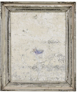 "Bild ""Blaue Blume (Tulpe)"" (Unikat)"