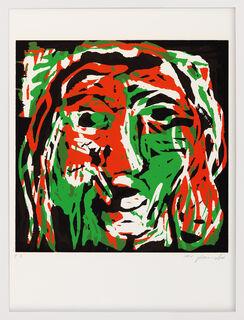 """Bild """"Kopf weiblich (D)"""" (1991)"""