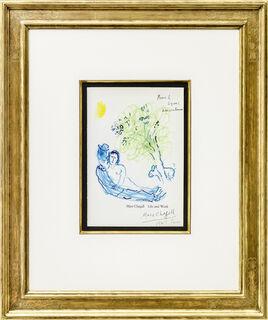 """Bild """"L'arbre amoureux"""" (1964) (Unikat)"""