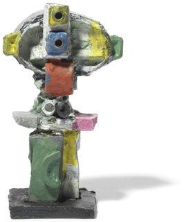 """Skulptur """"Doppelzyklop"""" (2016), Bronze"""