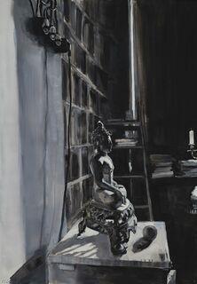 "Bild ""Im Atelier des Malers"" (2020) (Unikat)"