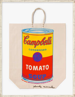 """Bild """"Campell's Soup Can (Tomato) II.4A"""" (1966)"""