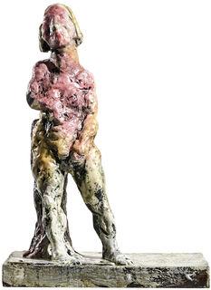 "Skulptur ""Jungfrau"" (2018), Bronze"