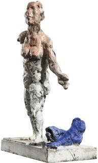 """Skulptur """"Fische"""" (2018), Bronze"""