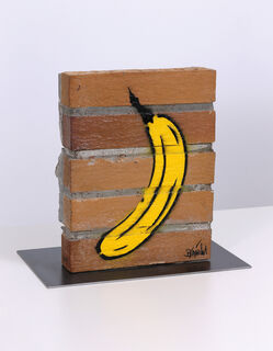 "Skulptur ""Mauerbanane"" (2019) (Unikat)"