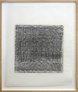 "Bild ""Ohne Titel (Frottage)"" (1960) (Unikat)"
