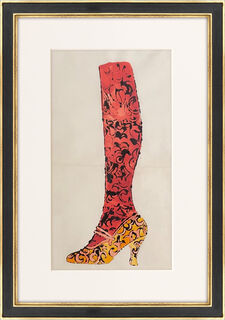 """Bild """"Shoe and Leg"""" (1955) (Unikat)"""