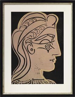 """Bild """"Tete de Femme de profil"""" (1952)"""