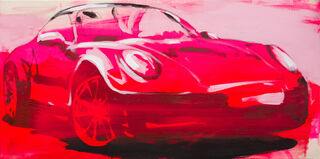"Bild ""Porsche Speedster"" (2021) (Unikat)"
