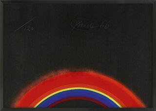 """Bild """"Regenbogen für Hering"""" (1966)"""