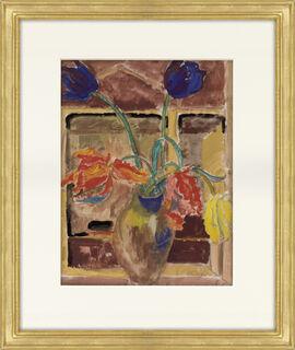 """Bild """"Papageientulpen"""" (1922) (Unikat)"""