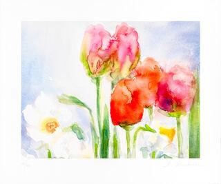 """Bild """"Tulpen und Narzissen"""" (2018)"""