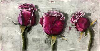 """Bild """"3 Rosen"""" (2017) (Unikat)"""