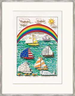 """Bild """"Rainbow regatta"""" (1984)"""