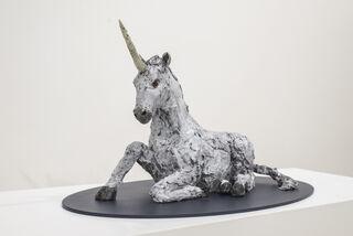 "Skulptur ""Einhorn"" (2020)"