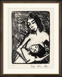"""Bild """"Mutter und Kind 2 (kleine Fassung)"""" (1920)"""