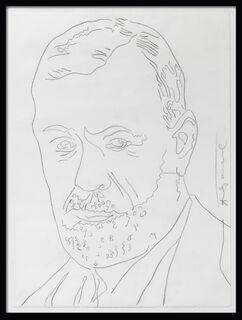 "Bild ""Sigmund Freud"" (1980) (Unikat)"