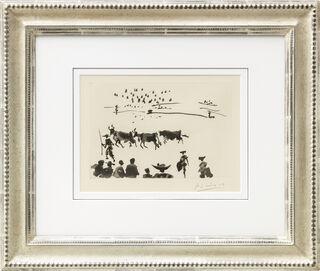 """Bild """"Los Cabestros Retiran al Toro Manso"""" (1957)"""