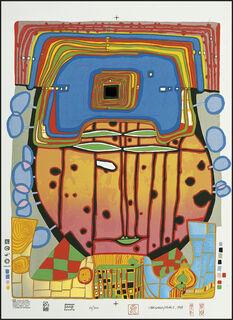 975 IL CAPPELLO DI ROMA, DER HUT VON ROM, THE HAT OF ROME (1997) (Siebdruck)